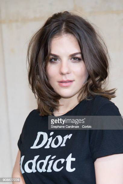 Morgane Polanski attends the Christian Dior Haute Couture Spring Summer 2018 show as part of Paris Fashion Week January 22 2018 in Paris France