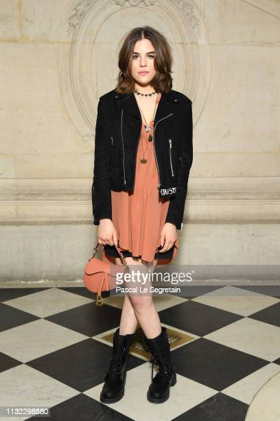 Morgane Polanski attends the Christian Dior show as part of the Paris Fashion Week Womenswear Fall/Winter 2019/2020 on February 26 2019 in Paris...