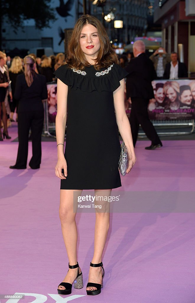 Morgane Polanski attends the European Premiere of 'Miss You Already' at Vue West End on September 17, 2015 in London, England.