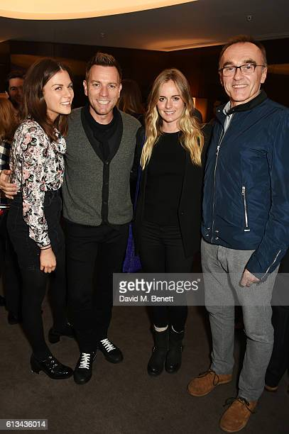 Morgane Polanski Ewan McGregor Cressida Bonas and Danny Boyle attend the exclusive prerelease screening of Ewan McGregor's directorial debut American...