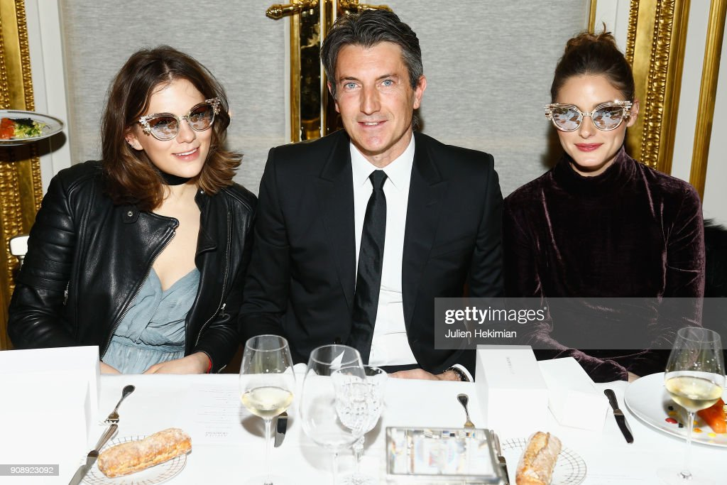 Swarovski Eyewear Dinner - Paris Fashion Week - Haute Couture Spring Summer 2018