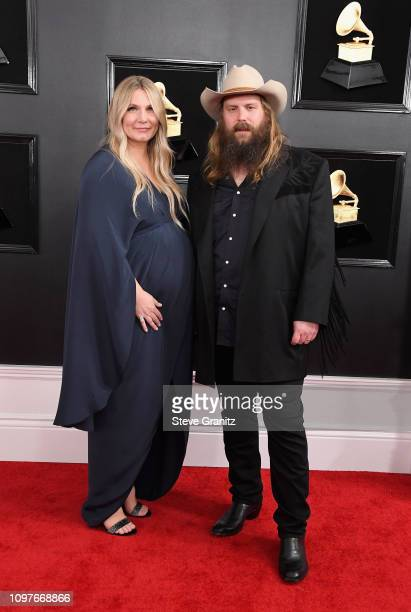 Morgane Stapleton and Chris Stapleton attend the 61st Annual GRAMMY Awards at Staples Center on February 10, 2019 in Los Angeles, California.