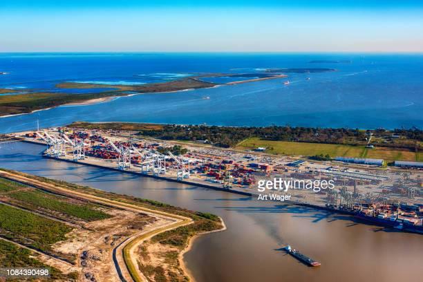 punto de morgan - el puerto de houston - houston fotografías e imágenes de stock