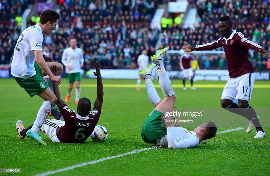 Hearts v Hibs - Scottish Championship : News Photo