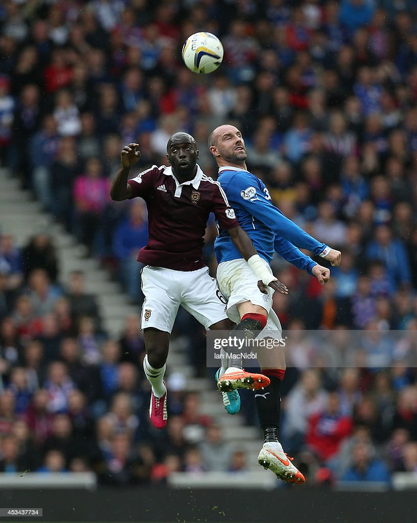 Rangers v Hearts - Scottish Championship