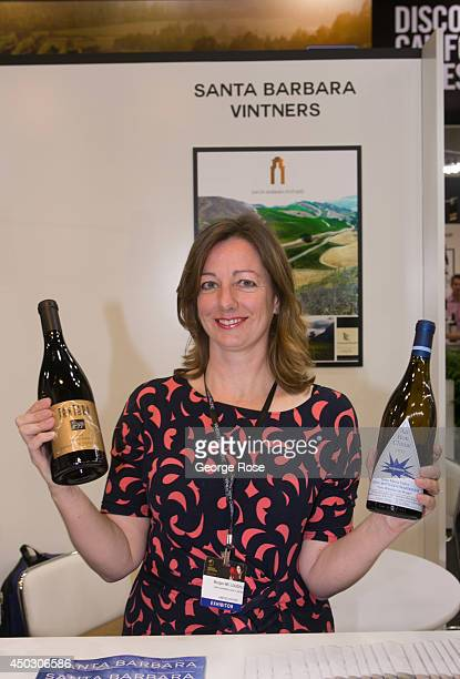 Morgen McLaughlin Executive Director of the Santa Barbara Vintners joins global wine producers in attending Vinexpo AsiaPacific 2014 held at the Hong...