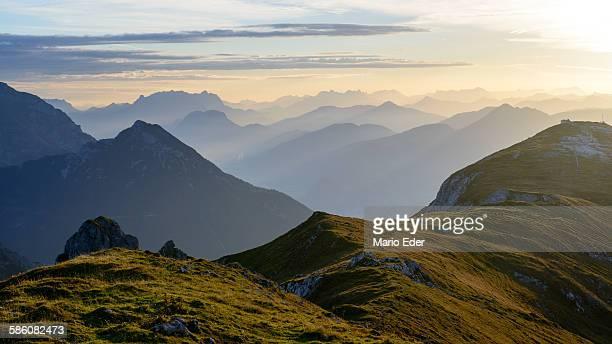 Morgenstimmung in Tirol
