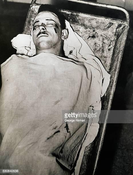 Morgue photograph of John Dillinger