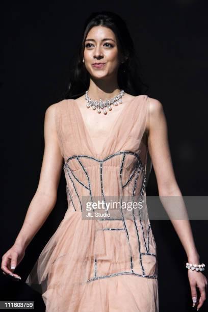 Mori Izumi model during Final Selection of 2006 Miss Universe Japan Presented by Samantha Thavasa Show at Tokyo International Forum in Tokyo Japan