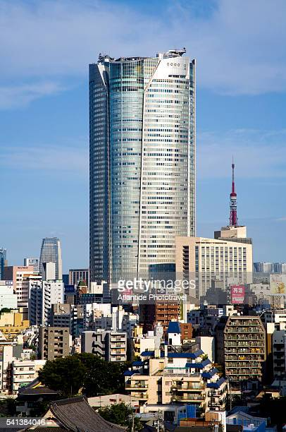 Mori Tower in the Roppongi District of Tokyo