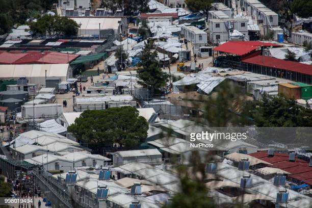 Moria is a refugee camp used as a hot spot for refugees to be recorded and apply the asylum application Moria is near the city of Mytilene in Lesvos...