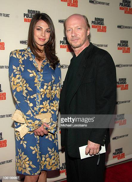 Morian Attias and director Paul Haggis attends the HBO Documentaries premiere Of Roman Polanski Wanted And Desired at The Paris Thatre in New York...