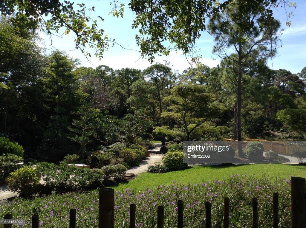 MIAMI, USA   APRIL 4, 2014: Morikami Museum And Japanese Gardens. The