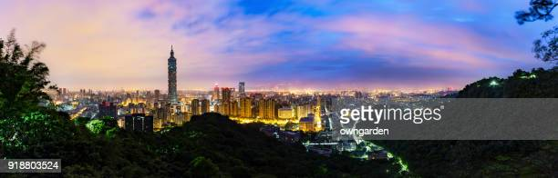 Moring Scenes of the Taipei city, Taiwan