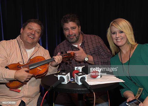 Moring Show attends Red Carpet Radio Presented By Westwood One For The American County Countdown Awards at Music City Center on December 13 2014 in...