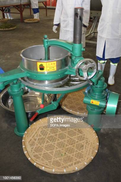 Moringa Technology Industry 's reshaping machine that gets moringa leaves ready for drying and packaging into tea bags MTI is a company that...