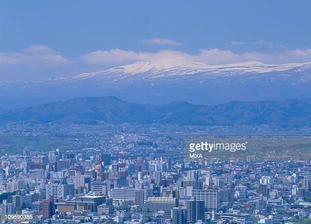 morioka city, morioka, iwate, japan - 盛岡市 ストックフォトと画像