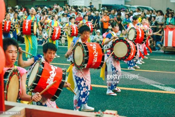 盛岡三佐踊まつり - 盛岡市 ストックフォトと画像