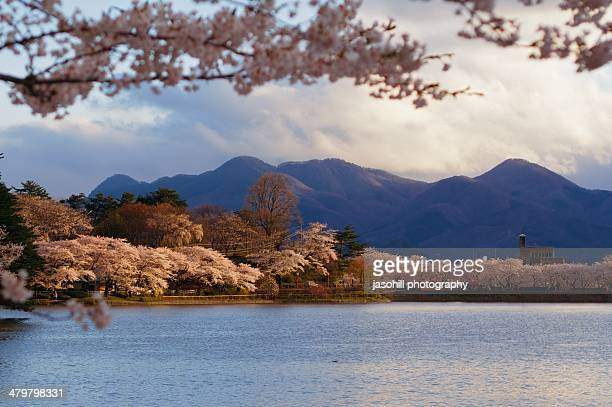 morioka scenery - iwate prefecture stock photos and pictures