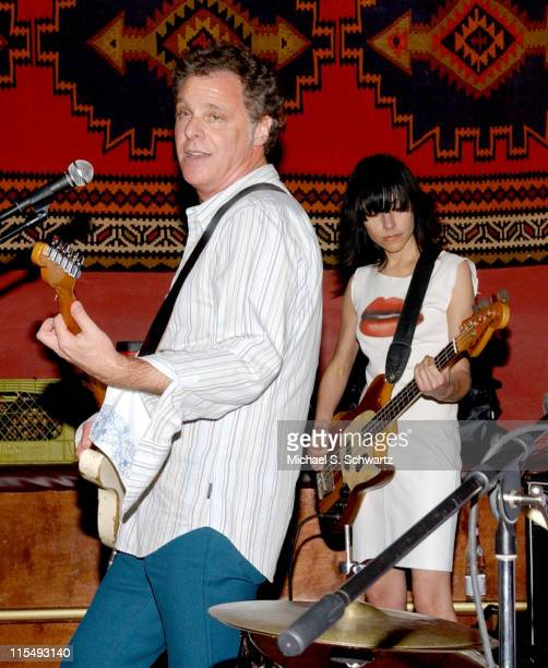 Moris Tepper and PJ Harvey during Moris Tepper with PJ Harvey Perform at The Tangiers Restaurant in Los Angeles January 27 2006 at The Tangiers...