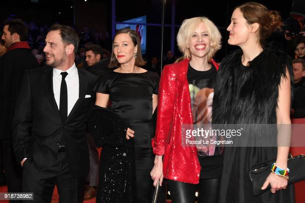 Moritz Bleibtreu Johanna Wokalek Katja Eichinger and guest attend the Opening Ceremony 'Isle of Dogs' premiere during the 68th Berlinale...