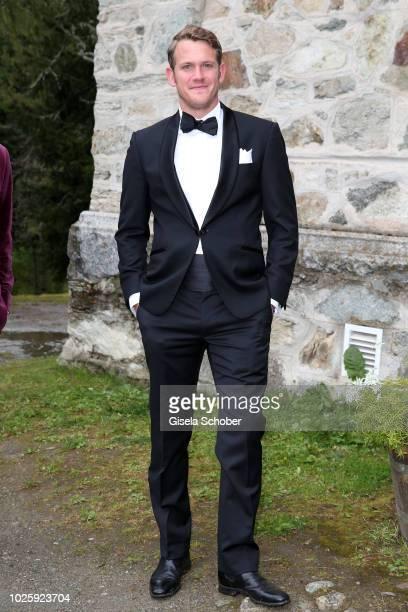 Moritz Flick during the wedding of Prince Konstantin of Bavaria and Deniz Kaya at the french church 'Eglise au Bois' on September 1 2018 in St Moritz...