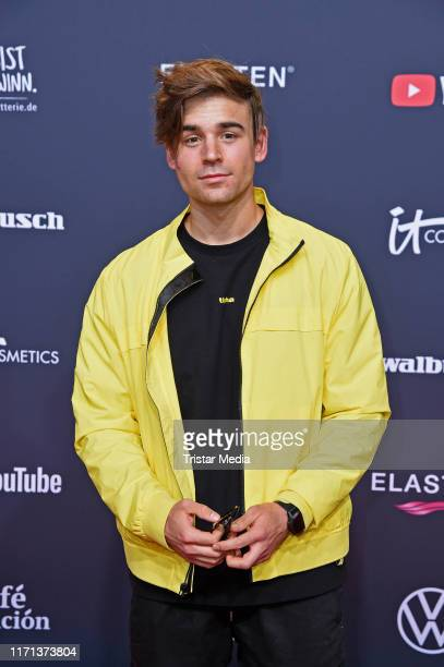 Moritz Garth attends the YouTube Goldene Kamera Digital Awards at Kraftwerk on September 26 2019 in Berlin Germany