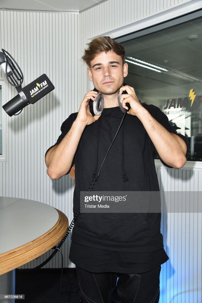 Moritz Garth At JAM FM In Berlin