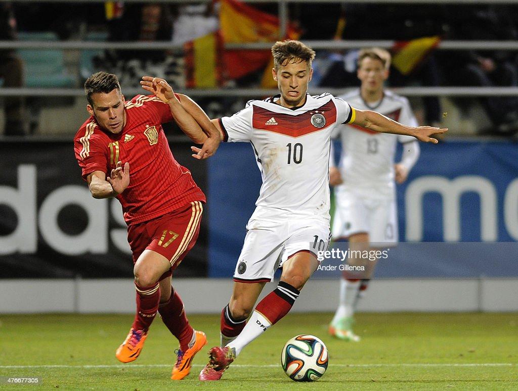 U21 Spain v U21 Germany - International Friendly Match : News Photo