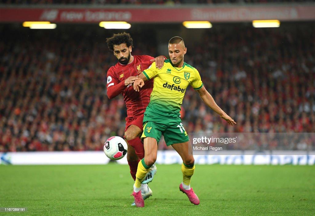 Liverpool FC v Norwich City - Premier League : Nachrichtenfoto