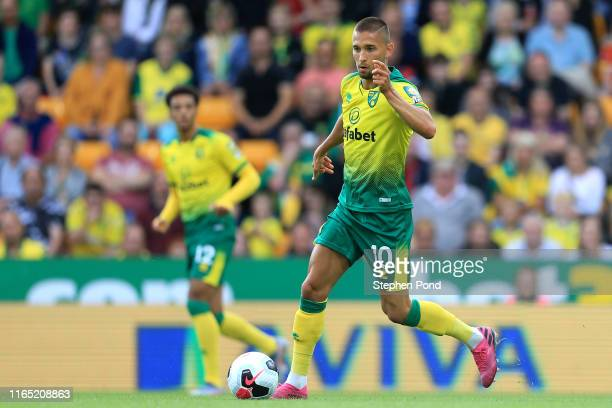 Moritz Leitner of Norwich City during the pre-season Friendly match between Norwich City and Atalanta at Carrow Road on July 30, 2019 in Norwich,...
