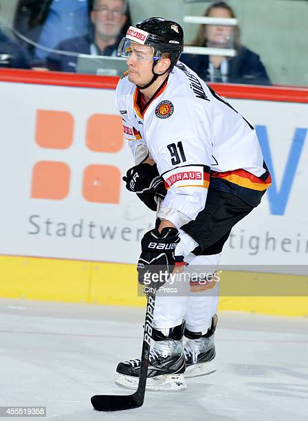 Moritz Mueller during the olympic qualification game between Germany and Italy on February 08 in Bietigheim Germany