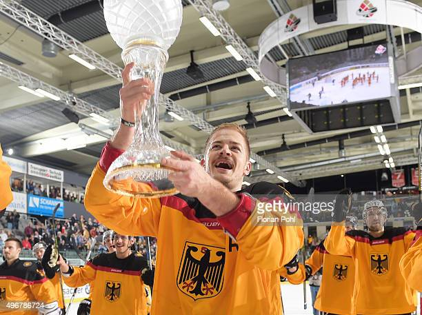 Moritz Mueller of Team Germany during the game between Germany against USA on november 8 2015 in Augsburg Germany