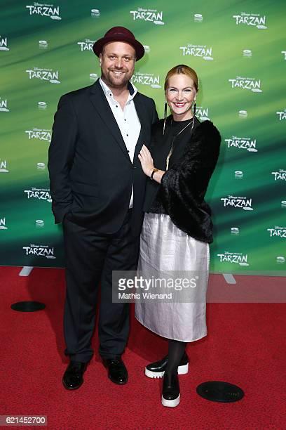 Moritz Sachs and Sabine Lindlar attend 'Tarzan' Musical Premiere on November 6 2016 in Oberhausen Germany