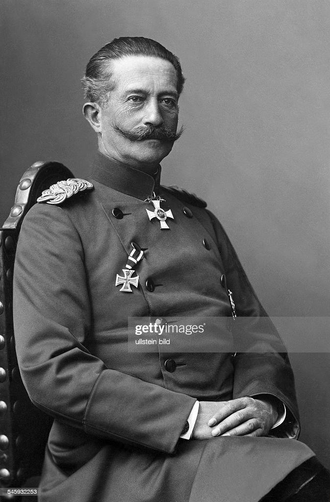 Moritz Ferdinand von Bissing : News Photo