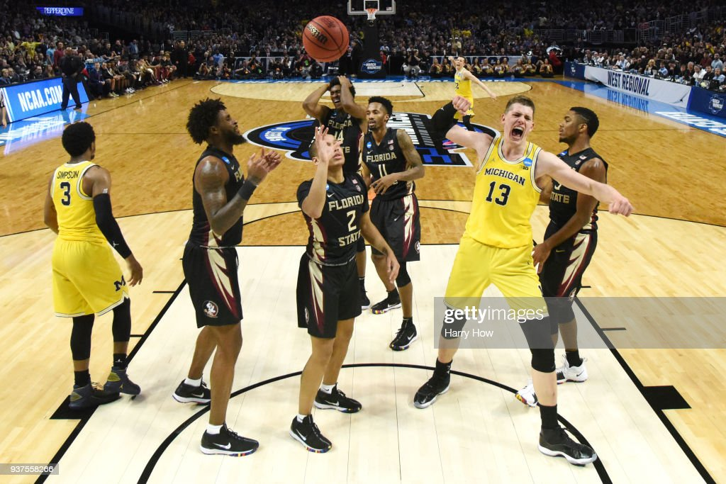 Moritz Wagner of the Michigan ...