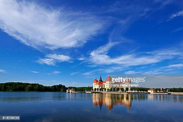 Moritzburg Castle near Dresden, Saxony
