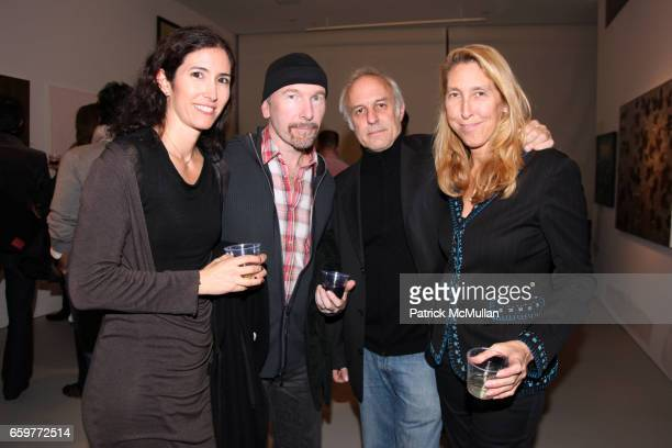 Morleigh Steinberg The Edge guest and Lisa Phillips attend Opening Reception for 1001 Colors Contemporary Art from Iran at 193 Bowery on November 2...