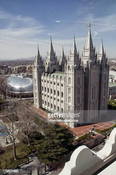 Mormon Temple and Tabernacle Salt Lake City Utah