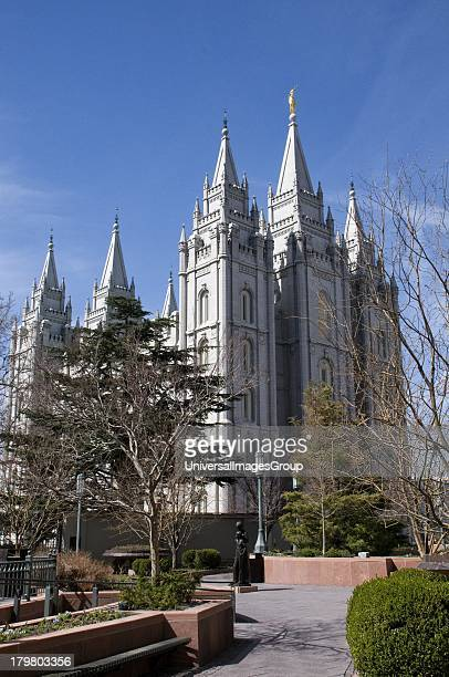 Mormon Temple Temple Square Salt Lake City Utah