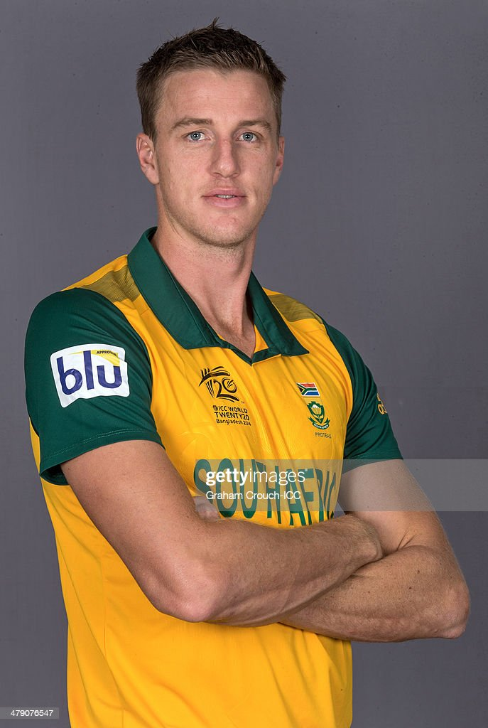 Morne Morkel of South Africa at the headshot session at the Pan Pacific Hotel, Dhaka in the lead up to the ICC World Twenty20 Bangladesh 2014 on March 16, 2014 in Dhaka, Bangladesh.