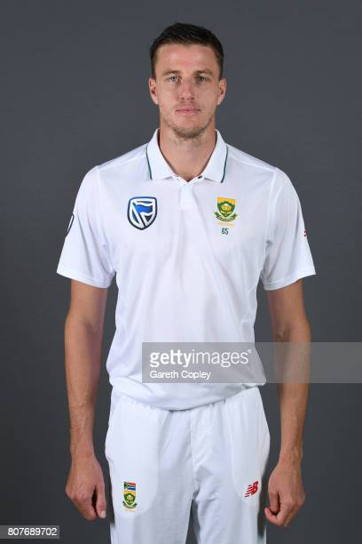 Morne Morkel of South Africa poses for a portrait at Lord's Cricket Ground on July 4 2017 in London England