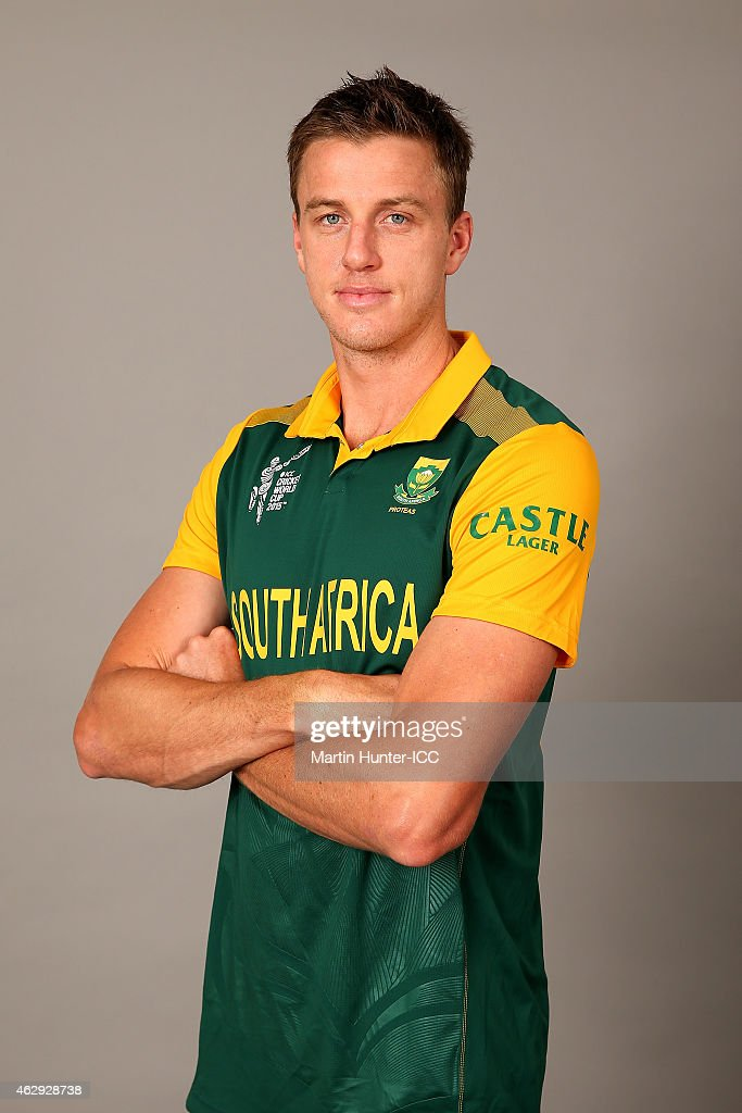 Morne Morkel poses during the South Africa 2015 ICC Cricket World Cup Headshots Session at the Rydges Latimer on February 7, 2015 in Christchurch, New Zealand.