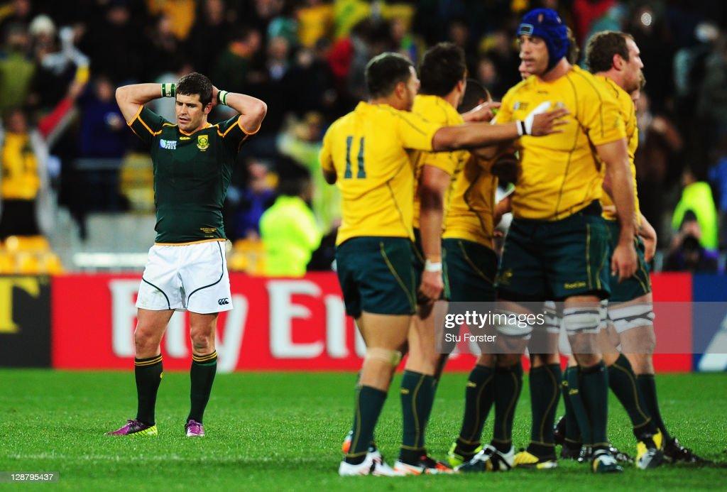 South Africa v Australia - IRB RWC 2011 Quarter Final 3
