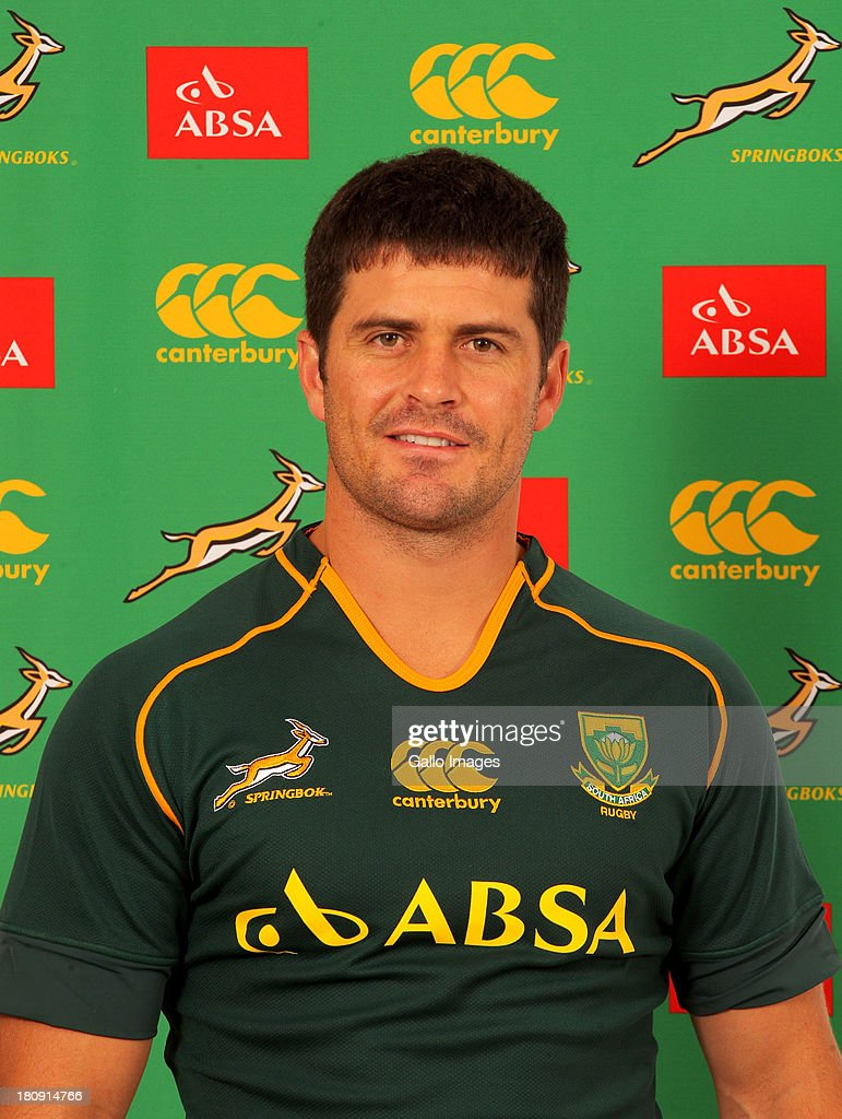 South African Springboks Photocall Session