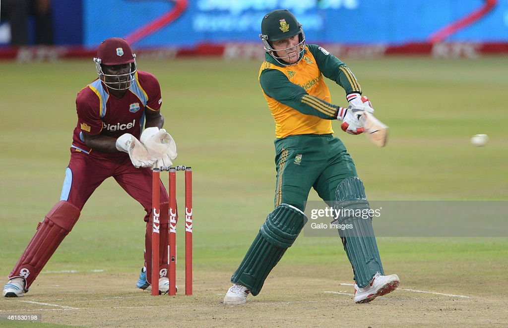 South Africa v West Indies - International T20 Series : News Photo