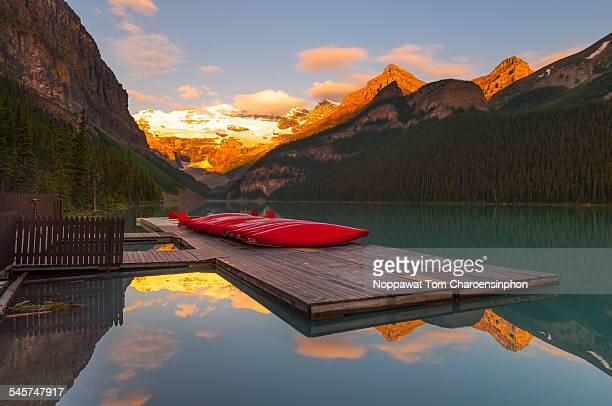Morning at Lake Louise