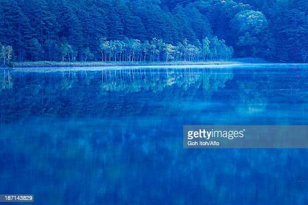Morning at lake Onneto, Hokkaido