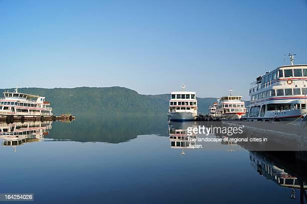 Morning at Lake Towada