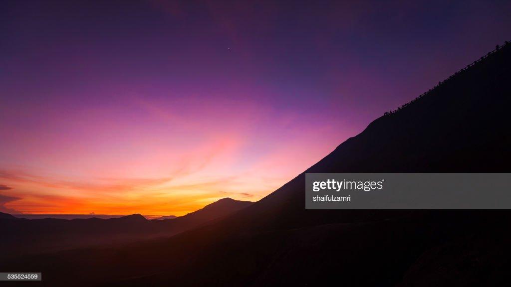 Morning at Mt. Bromo : Stock Photo